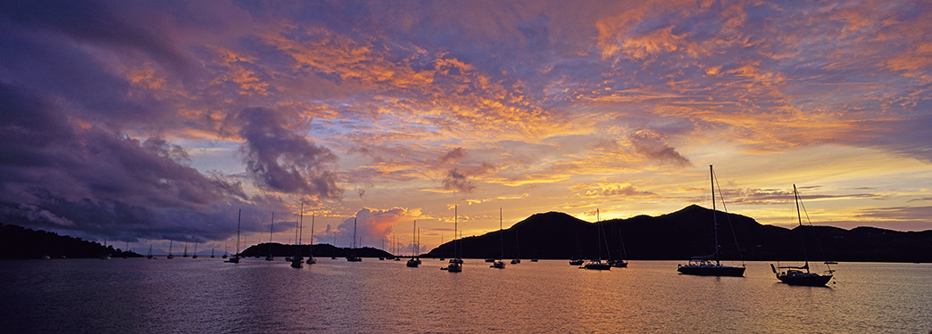 G306 - Falmouth Harbour Sunset, Antigua