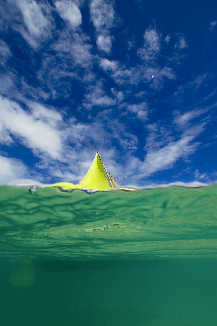 G227 - Yellow Sail in Grenada