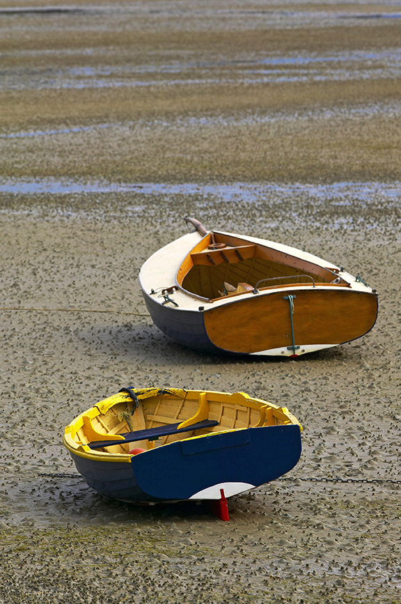 G192 - Dinghies at Low Tide NZ